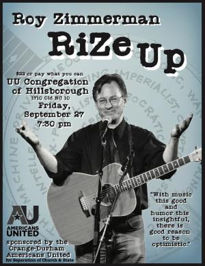 Roy Zimmerman RiZe Up